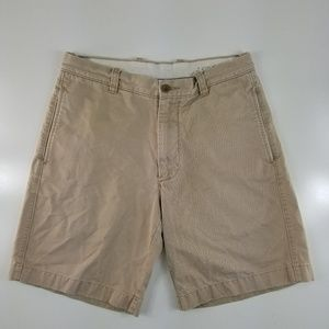 J. CREW Broken In Chino Regular Fit Shorts CC20